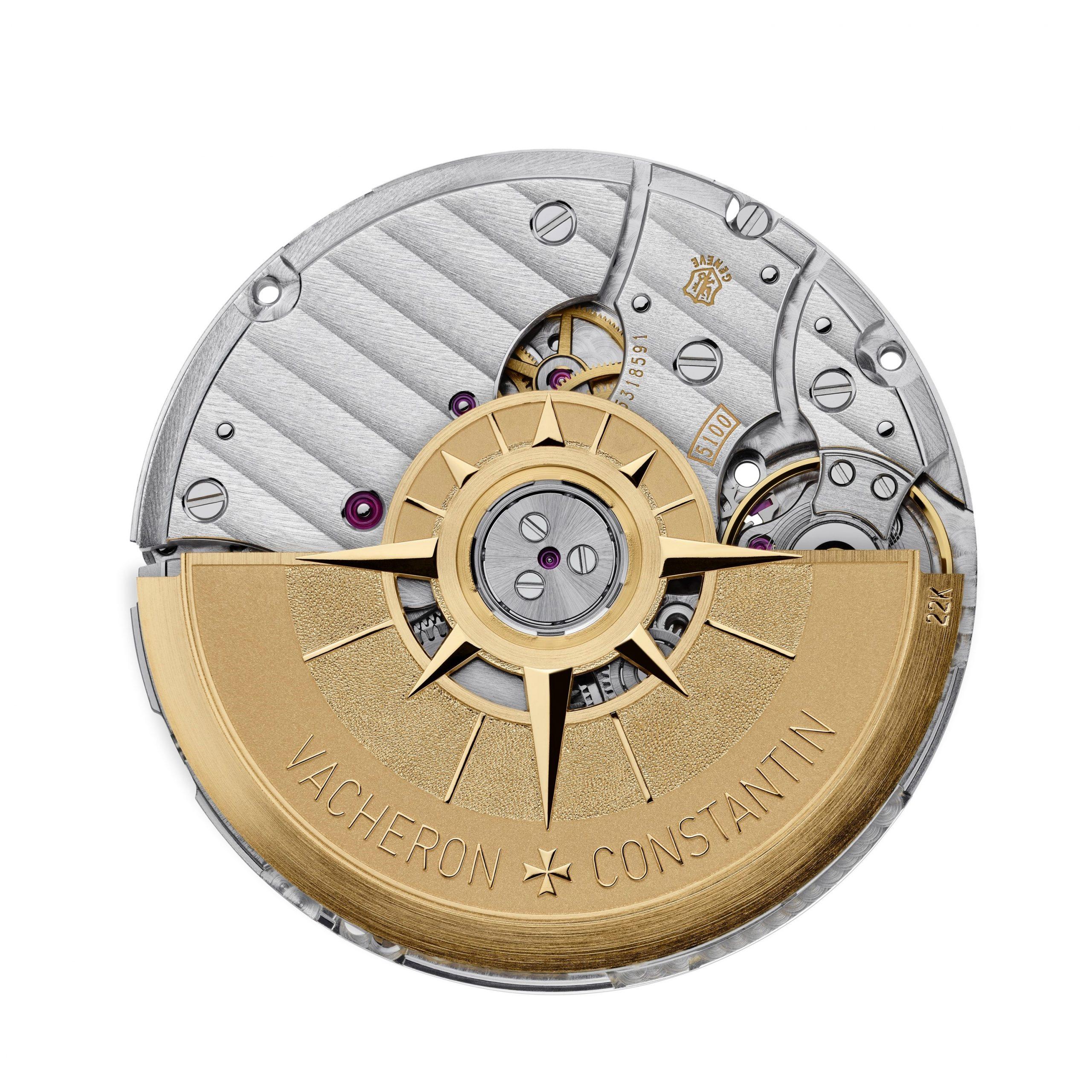 Kaliber 5100 - mechanizm zegarka Overseas Automatic