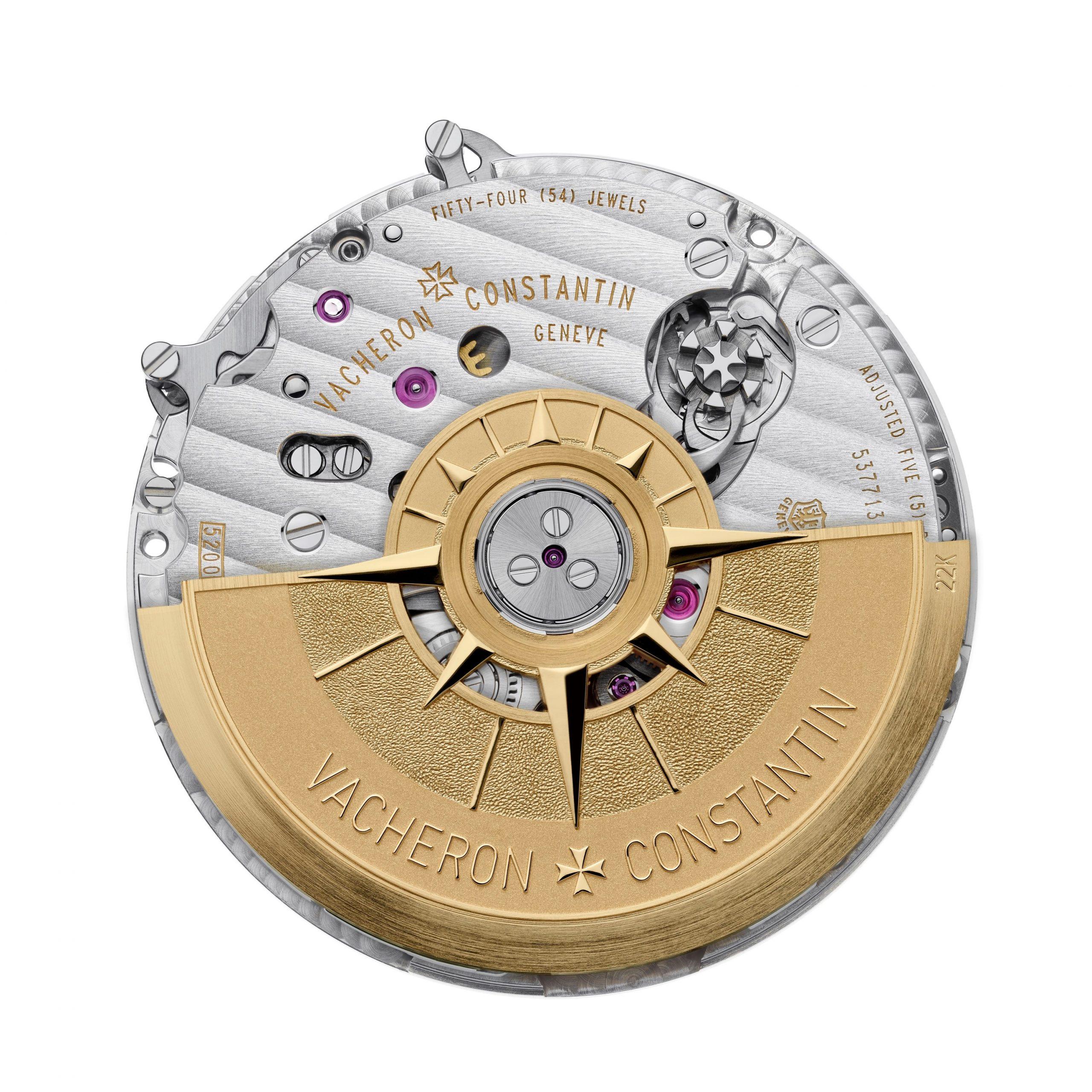 Kaliber 5200 - mechanizm zegarka Overseas Chronograph