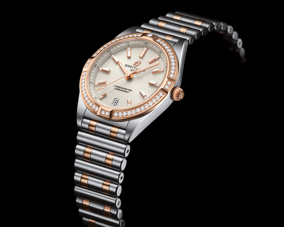 Breitling Chronomat Automatic 36 Gold and Steel