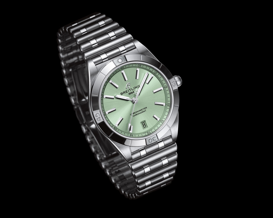 Breitling Chronomat Automatic 36 Green Dial