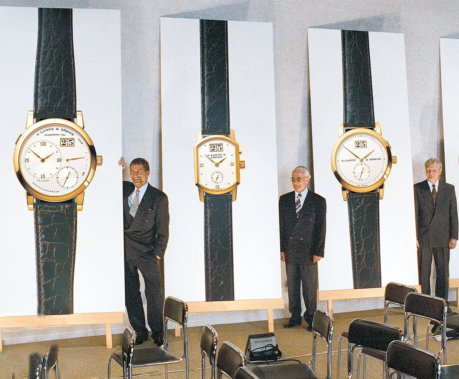Prezentacja nowych kolekcji A. Lange & Söhne - 1994